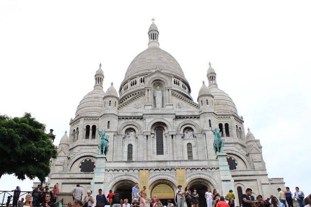 巴黎景點 聖心堂