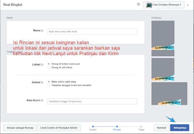 Rincian Bingkai Profil Facebook