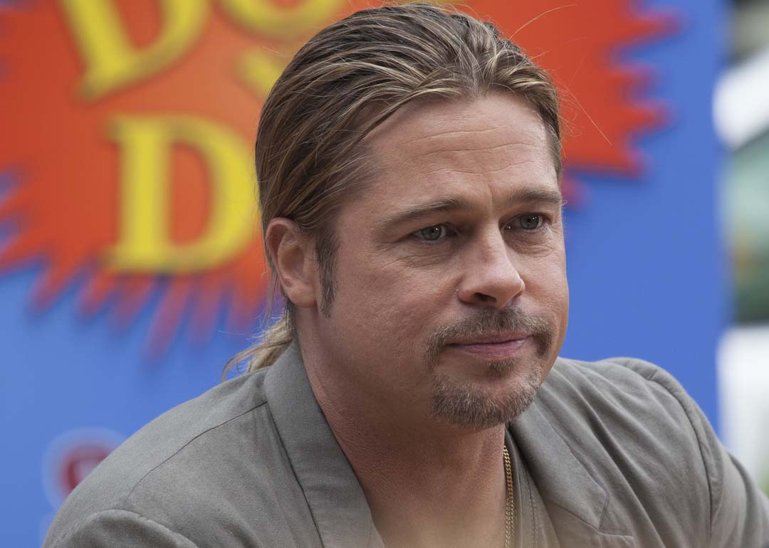 Image result for brad Pitt Confused