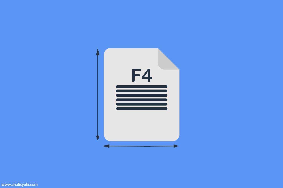 Cara Mengatur Ukuran Kertas F4/HVS/Folio di Word 2019