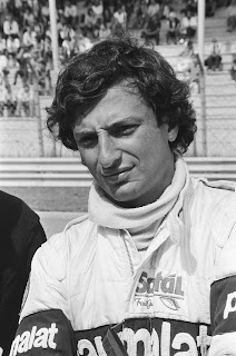 Riccardo Patrese was considered brash and  impetuous at the start of his career