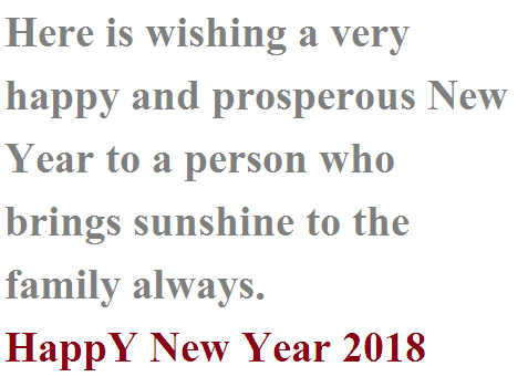 New Year Greeting Cards Online