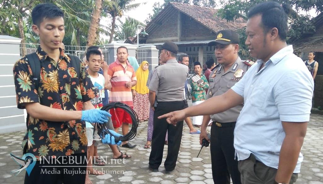 Pemuda di Kebumen Tewas Gantung Diri, Polisi Temukan Kabel TV di TKP