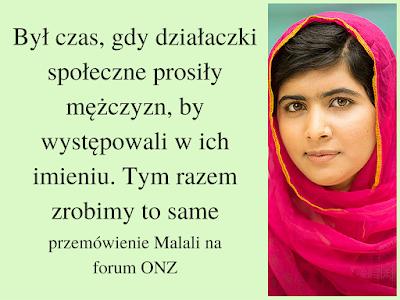przemówienie Malali na forum ONZ, aktywizm, feminizm, prawa kobiet, Pakistan, prawo do edukacji