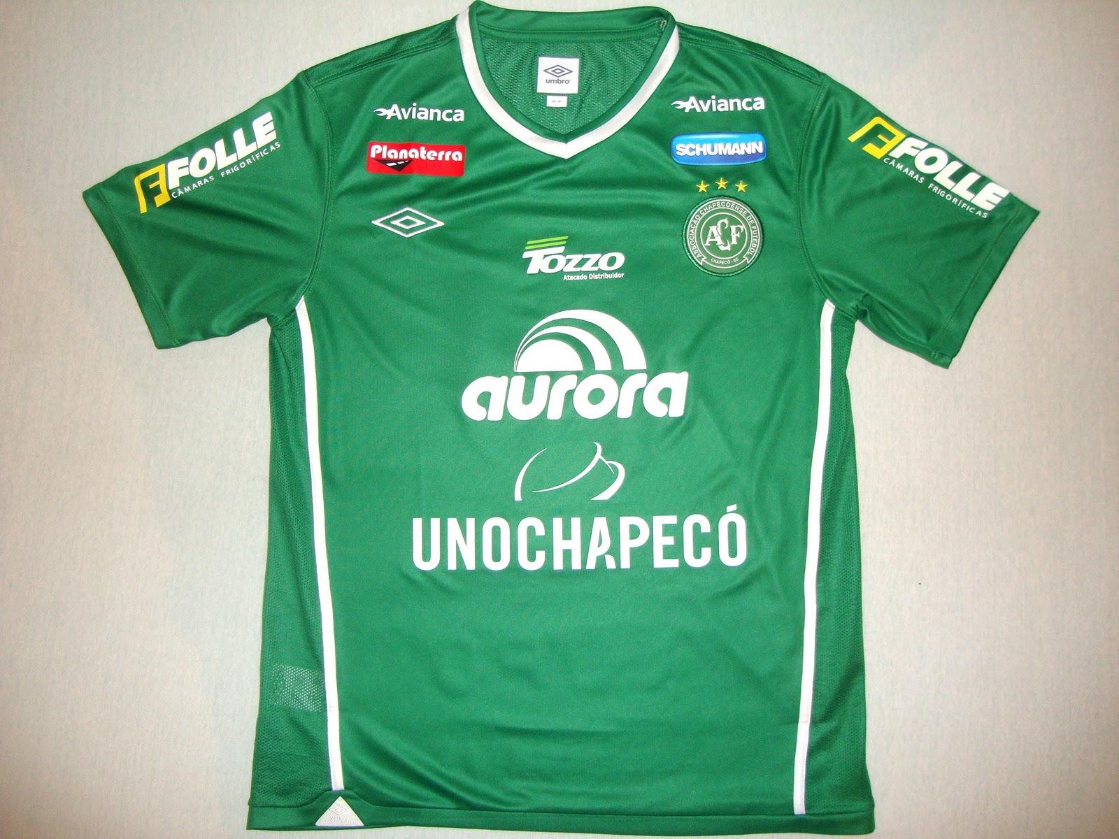 Associação Chapecoense de Futebol (SC) - Show de Camisas 9c3e29dd13f9e