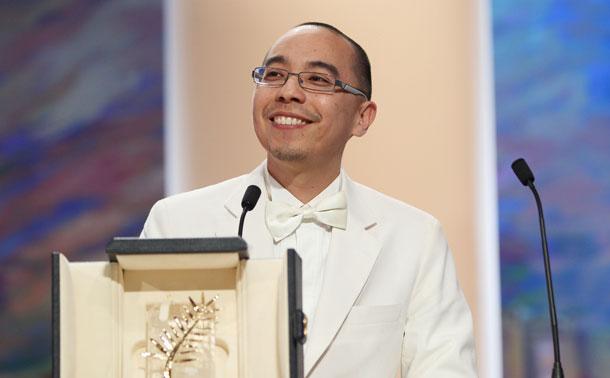 Apichatpong Weerasethakul cinéaste thaïlandais, palme d'or à Cannes en 2010 pour « Oncle Boonmee