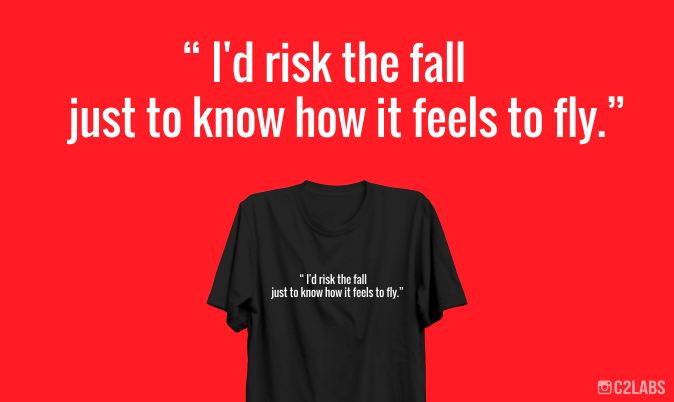 Kaos Kata Rider Id Risk The Fall Just To Know How It