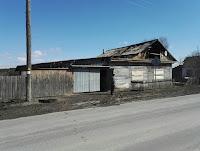 Пожар по ул. Карла Марса, в селе Курьи