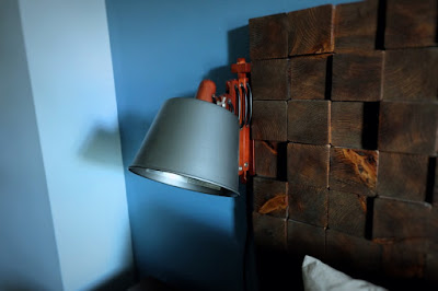 expanding extend sconce wood wall metal shade