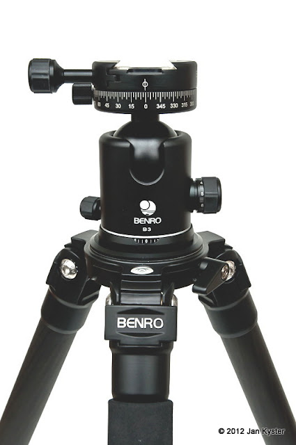 Benro C3770T Combination Carbon Fiber Tripod + Benro B-3 + Benro PC-1 - overview