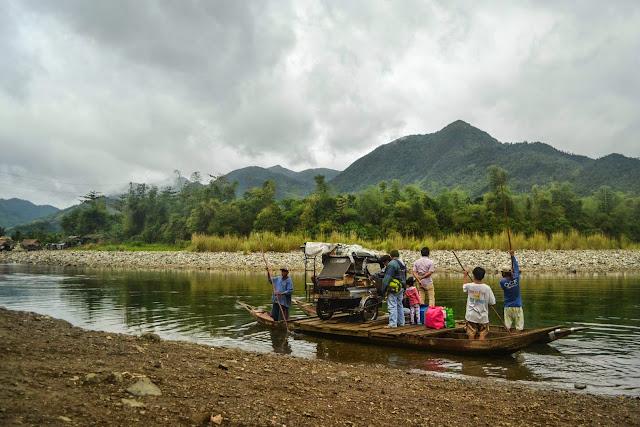 River Crossing via Raft in Mt. Daraitan
