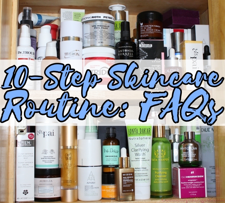 Frequently asked questions about the 10-step skincare regimen