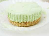 NO-BAKE GREEN TEA CHEESECAKES