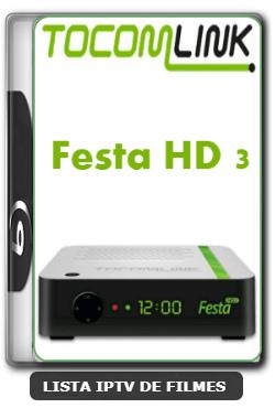 Tocomlink Festa HD 3 Nova Atualização Correção de bug Simcard V1.06 - 29-02-2020