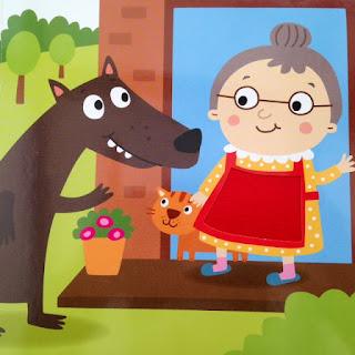 le tablier soyeux de la grand-mère