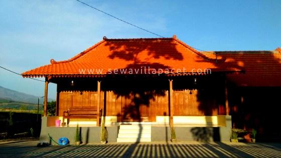Sewa Villa Pacet Murah Villa Kangen Omah Pacet