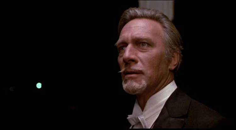 Christopher Plummer chews scenery in Somewhere in Time.
