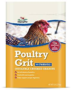 bag of poultry grit