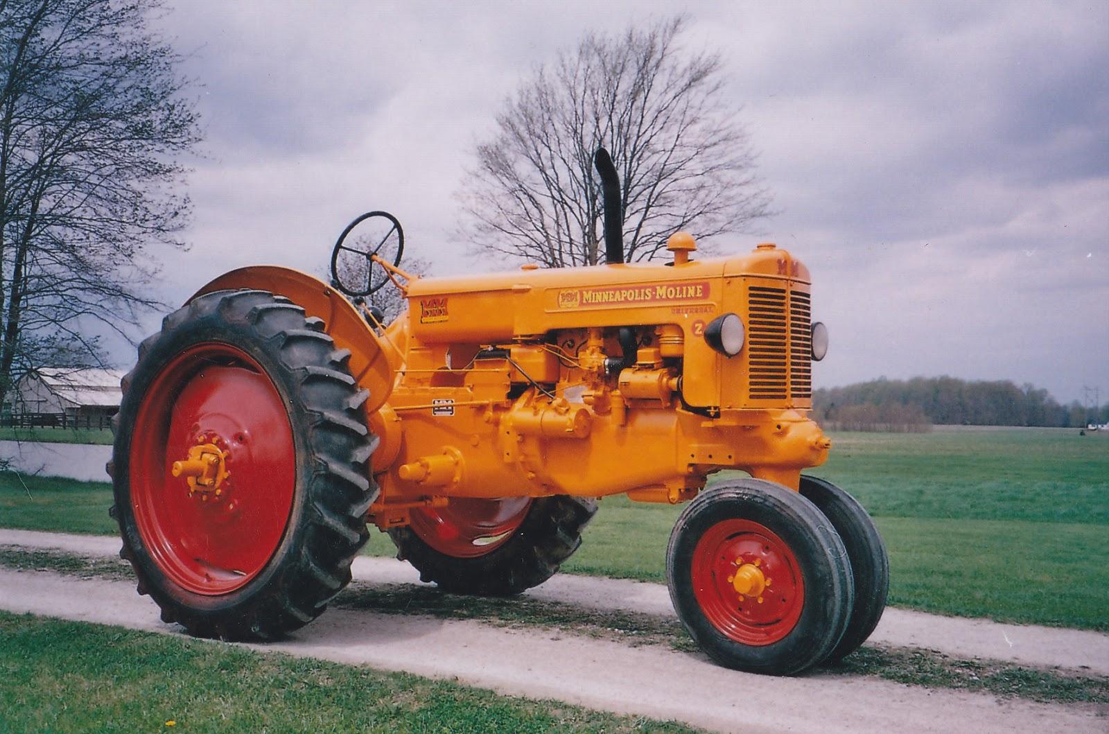 Minneapolis Moline Models : A born again roman minneapolis moline twin city tractors