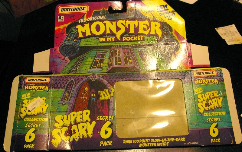 Action Figure Adventures Monsters In My Pocket Super Scary Packaging