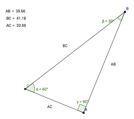 30-60-90 Special Right Triangles Investigation - geogebra applet and download - trying to teach students persistence  |  mrseteachesmath.blogspot.com