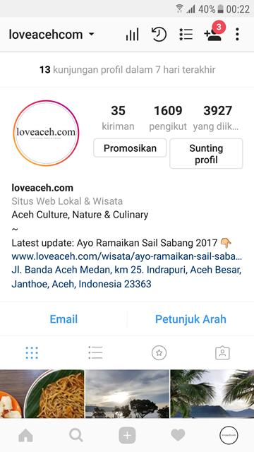 Cara Membuat Dan Menggunakan Profil Bisnis Di Instagram ...