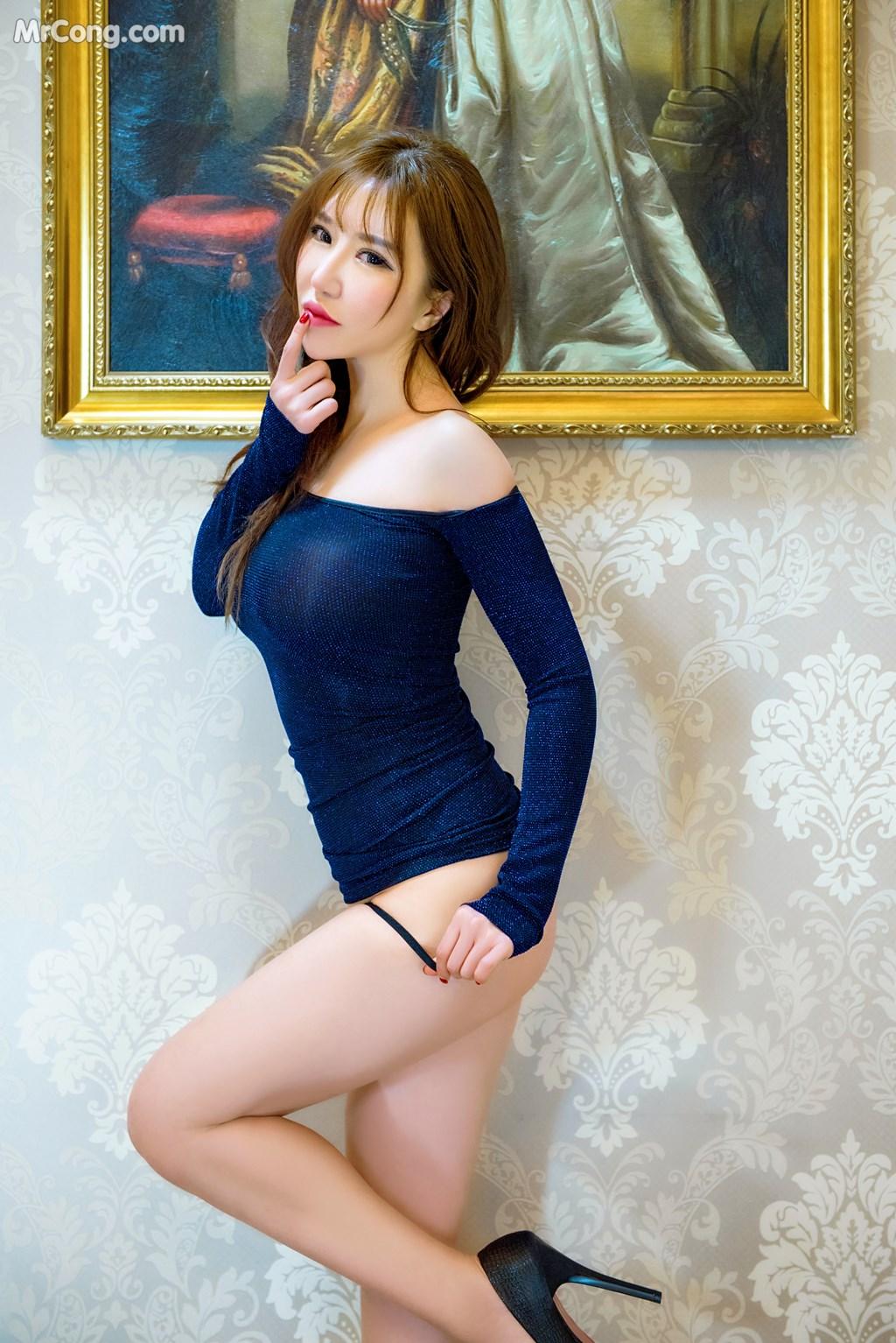 Image SLADY-2017-05-25-No.002-Han-Enxi-MrCong.com-002 in post SLADY 2017-05-25 No.002: Người mẫu Han Enxi (韩恩熙) (45 ảnh)