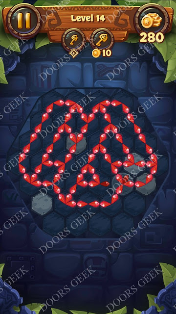 Gems & Magic [Tourmaline] Level 14 Solution, Walkthrough, Cheats
