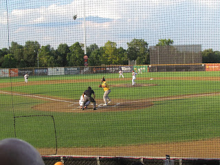 First pitch, Bandits vs. Cavalry