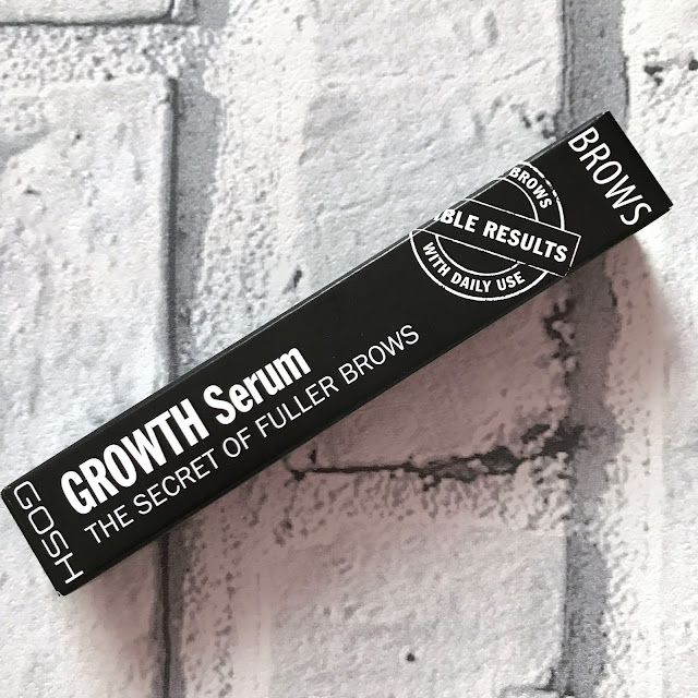 GOSH AW 17 New Collection - Growth Serum Brows