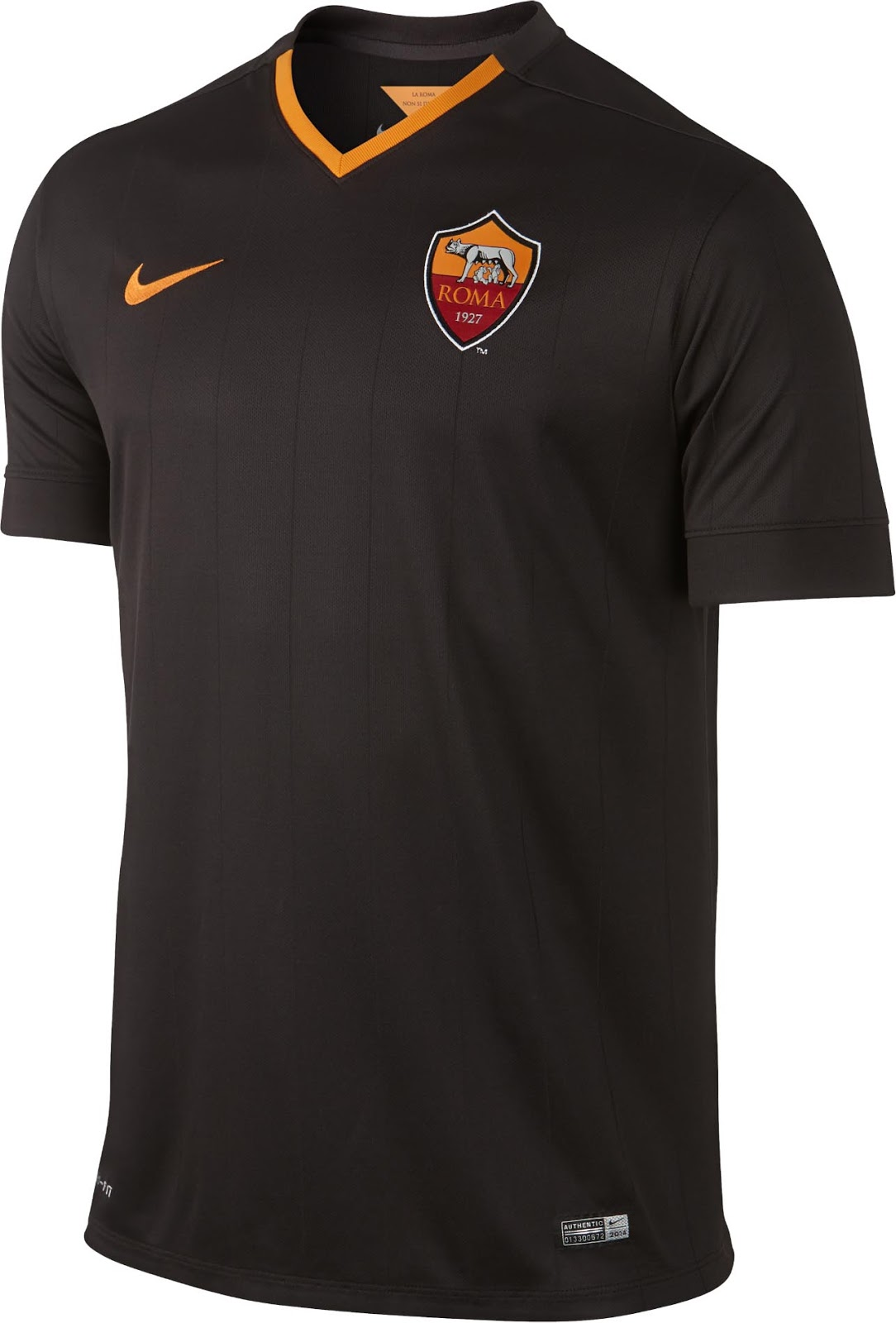 save off 7e4cf 70c91 AS Roma 2014-15 Home, Away and Third Jersey Shirt Kit ...