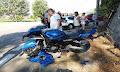 Ηλεία: Τροχαίο με τραυματισμο 41χρονου μοτοσικλετιστή στο Καλλίκωμο