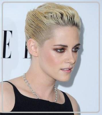 model potongan rambut pendek wanita gaya slicked gack