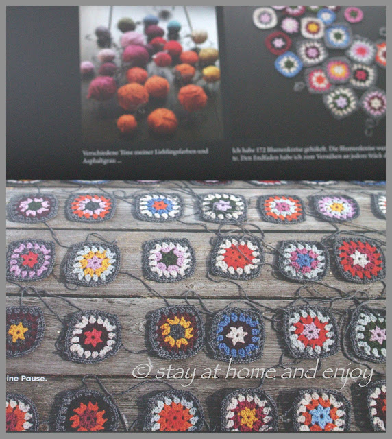 "Buch ""Moderne Granny Squares"" - stay at home and enjoy"