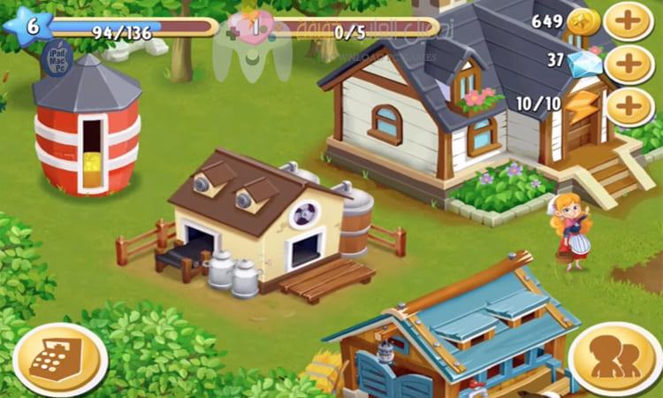 تحميل لعبة المزرعة السعيدة Happy Farm للكمبيوتر