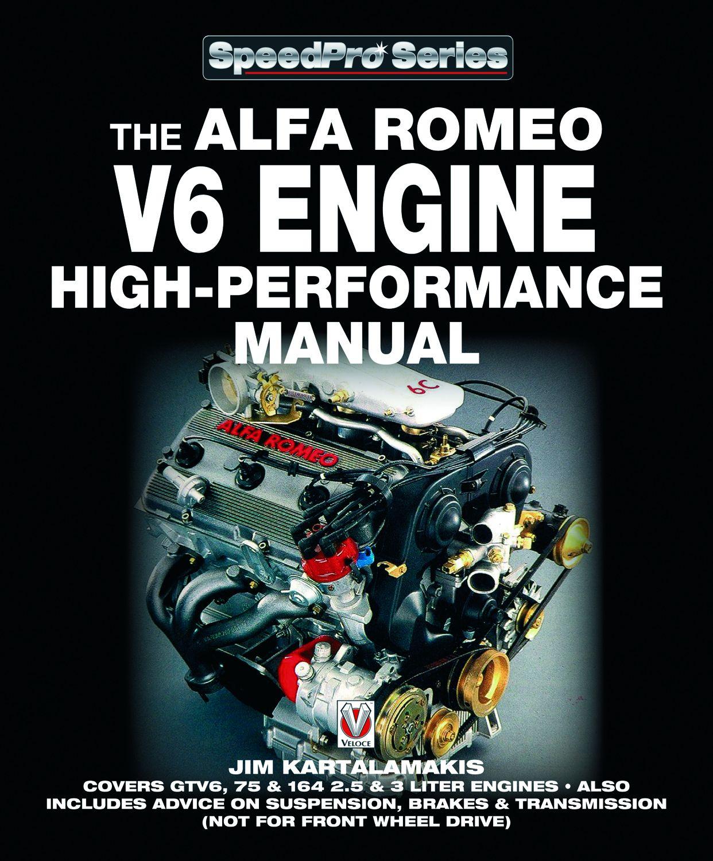 Daily Cars: Alfa Romeo V6 Engine High-performance Manual