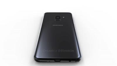Samsung Galaxy S9 Render Leaked