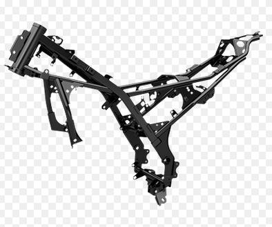 Ternyata rangka SUZUKI GSX-R150 yang di simpulkan kuat dan ringan ini, menggunakan pipa kotak yang lebih efisien