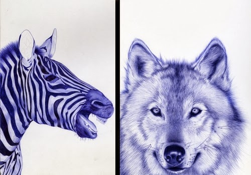 01-Front-Page-Sarah-Esteje-ABADIDABOU-Hyper-realistic-Ballpoint-Pen-Animals-www-designstack-co
