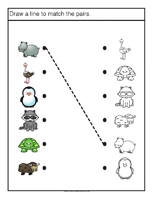 Zoo Matching Pairs & Free Download