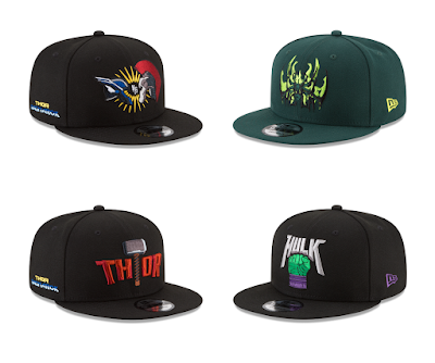 Thor Ragnarok 9FIFTY Snapback Hat Collection by New Era Cap x Marvel