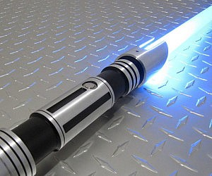 light saber cake knife