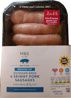 M&S Skinny Sausages