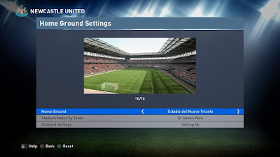 PES 2016 Home Ground Stadiums Fix V1 untuk PTE Patch 4.1