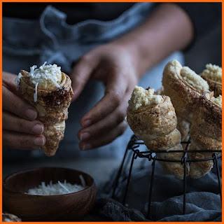 Cách làm bánh ngàn lớp ốc quế kem cream horn