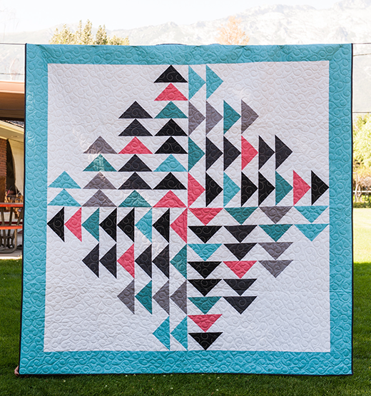 Every Which Way Quilt Free Pattern designed by Riley Blake Designs