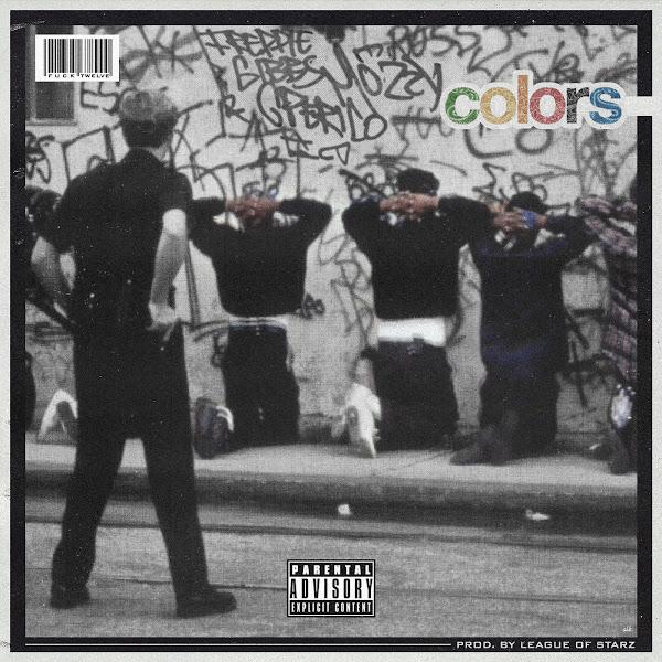 Freddie Gibbs, G Perico & Mozzy - Colors - Single  Cover