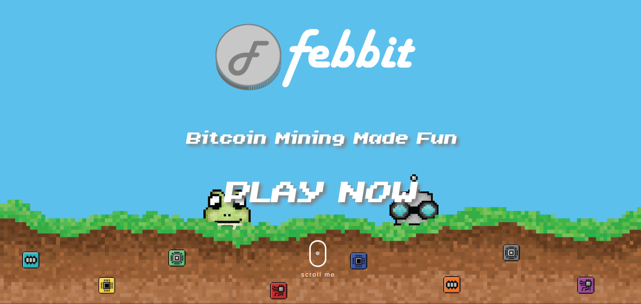 Bitcoin Mining Game l Claim Free Bitcoin by febbit | Bitcoin
