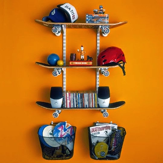 Do it yourself ideas and projects 19 diy awesome skateboard crafts diy skateboard chandelier solutioingenieria Choice Image