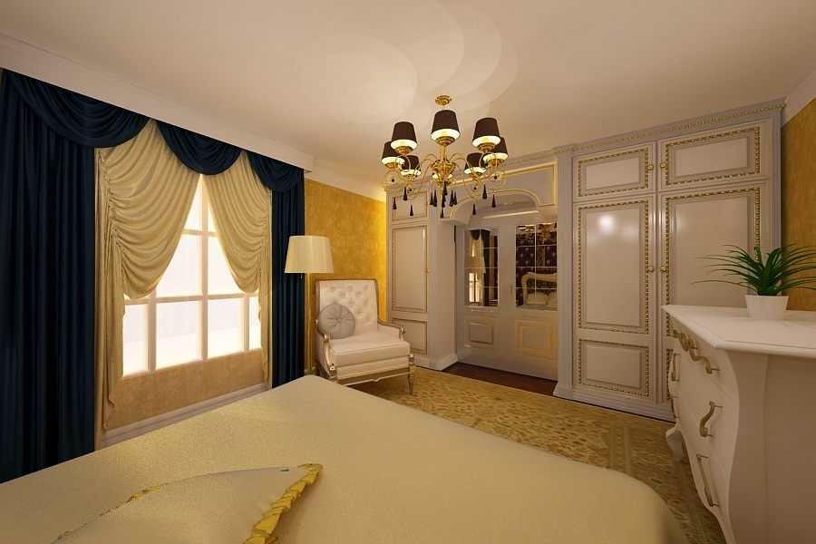 Design - interior - dormitor - clasic